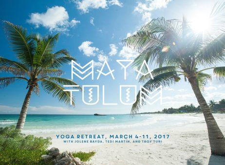 Maya Tulum: Reality (flyer)