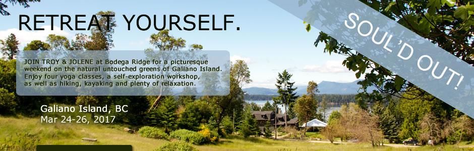 Galiano Island Yoga Retreat V
