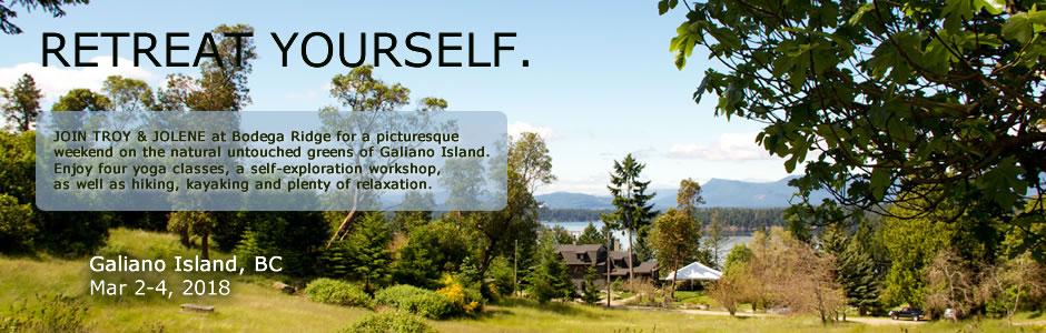 Galiano Island Yoga Retreat VI