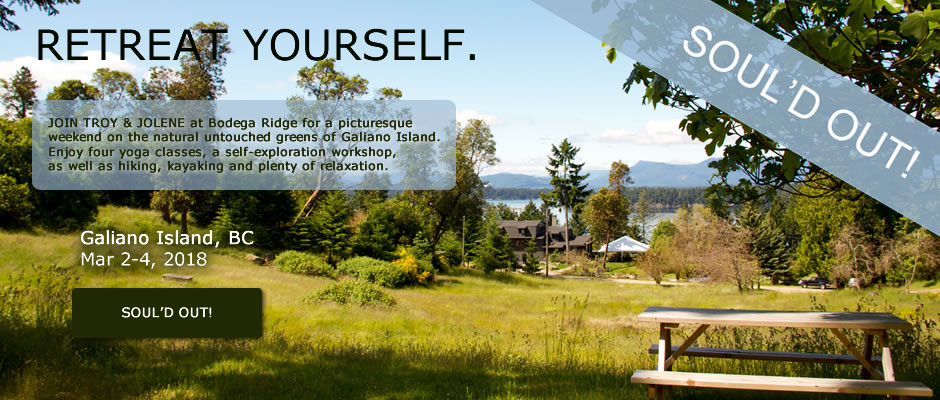 Galiano Island Yoga Retreat VI