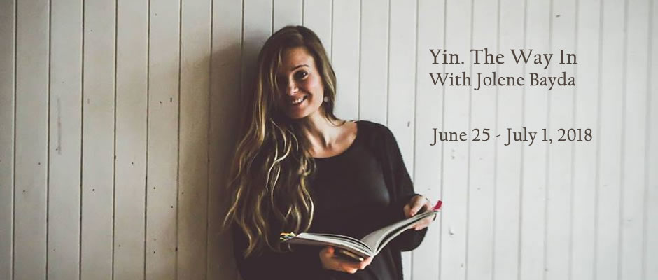 Yin Yoga with Jolene Bayda