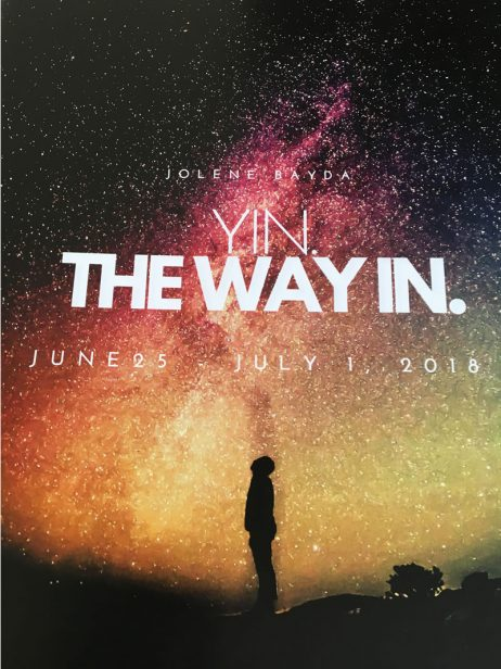 Yin. The Way In. with Jolene Bayda