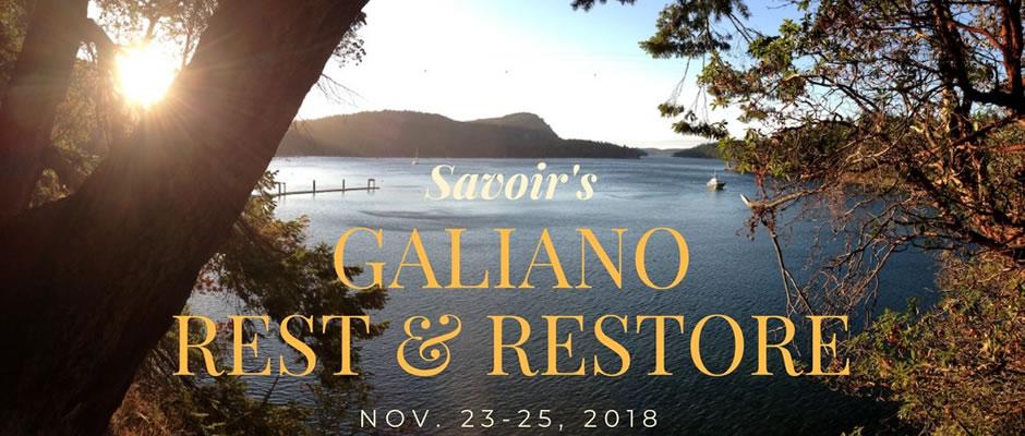 Galiano Island Rest & Restore Weekend