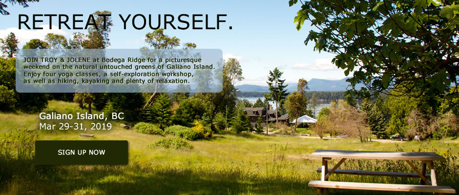 Galiano Island Yoga Retreat VII